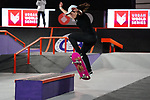6th November 2020; Parc del Forum, Barcelona, Catalonia, Spain; Imagin Extreme Barcelona; picture show Charlotte Hym (FRA) winner women street final