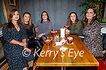 Trisha and Aisling McMahon, Sharon O'Sullivan, Melanie Duggan and Elaine Lynch enjoying the evening in Benners Hotel on Saturday.