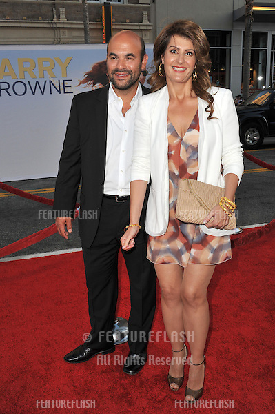 """Nia Vardalos & husband Ian Gomez at the world premiere of her new movie """"Larry Crowne"""" at Grauman's Chinese Theatre, Hollywood..June 27, 2011  Los Angeles, CA.Picture: Paul Smith / Featureflash"""