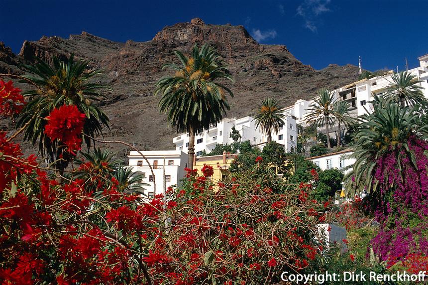 Spanien, Kanarische Inseln, Gomera, Ortsteil La Calera