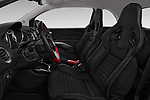 Front seat view of a 2017 Opel Adam S 3 Door Hatchback front seat car photos