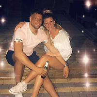 """Pictured: Sophie Chanel Ward with partner Luke Dominic Cullen.<br /> Re: A couple angry at being sold a car which """"seized up"""" after it was purchased turned up to the seller's house in the middle of the night with one of them carrying a knife.<br /> A """"violent incident"""" took place at the home of Daniel Parvin, his wife Claire, and their three young children, Swansea Crown Court heard.<br /> Sophie Chanel Ward had become unhappy with a car she had bought from Mr Parvin after the engine seized up shortly after she bought it off him leading to a long-running civil dispute.<br /> On October 15 last year Mr and Mrs Parvin were woken by banging on their door and the doorbell being rung at their home in the Gendros area of Swansea, south Wales.<br /> Mr Parvin went downstairs and opened the front door and saw a man, Luke Dominic Cullen, standing outside with his hand behind his back.<br /> He was asked """"Are you Daniel Parvin?"""" and he said no before closing his door and locking it and telling his wife to call the police.<br /> Cullen was given a 60-week prison sentence suspended for two years. He must complete a rehabilitation activity requirement of 20 days and complete 150 hours unpaid work.<br /> Ward was given a 27-week prison sentence suspended for 12 months. She must also undergo a rehabilitation activity requirement for 20 days."""