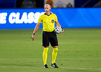 CARSON, CA - SEPTEMBER 06: Referee Allen Chapman during a game between Los Angeles FC and Los Angeles Galaxy at Dignity Health Sports Park on September 06, 2020 in Carson, California.