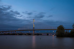 ODOT Football |  Toledo Veteran's Glass City Skyway Bridge | HLB Lighting