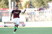 Calcio, Serie A: Frosinone vs Roma. Frosinone, stadio Comunale, 12 settembre 2015.<br /> Roma's Francesco Totti kicks the ball during the Italian Serie A football match between Frosinone and Roma at Frosinone Comunale stadium, 12 September 2015.<br /> UPDATE IMAGES PRESS/Isabella Bonotto