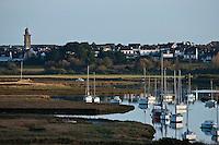 Europe/France/Bretagne/56/Morbihan/Billiers: Le port de Pen Lan est situé à l'embouchure de la rivière Saint-Éloi