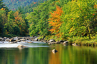 East Branch Ausable River, Jay, Essex County, New York