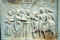 Italy: Pompeii, Bas-relief. Photo '83.