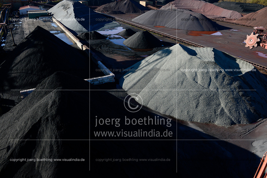 Germany, Hamburg, Hansaport import of coal and ore, DEUTSCHLAND, Hamburg, Hansaport, Import von Kohle und Erz, Lagerung und Weitertransport zu Kraftwerken und Stahlwerken