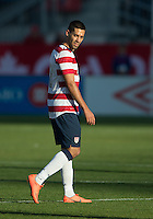 03 June 2012: US Men's National Soccer Team midfielder Clint Dempsey #8 in action during an international friendly  match between the United States Men's National Soccer Team and the Canadian Men's National Soccer Team at BMO Field in Toronto..The game ended in 0-0 draw...