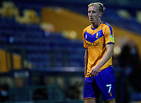 Mansfield Town's Harry Charsley<br /> <br /> Photographer Andrew Vaughan/CameraSport<br /> <br /> EFL Trophy Northern Section Group E - Mansfield Town v Lincoln City - Tuesday 6th October 2020 - Field Mill - Mansfield  <br />  <br /> World Copyright © 2020 CameraSport. All rights reserved. 43 Linden Ave. Countesthorpe. Leicester. England. LE8 5PG - Tel: +44 (0) 116 277 4147 - admin@camerasport.com - www.camerasport.com