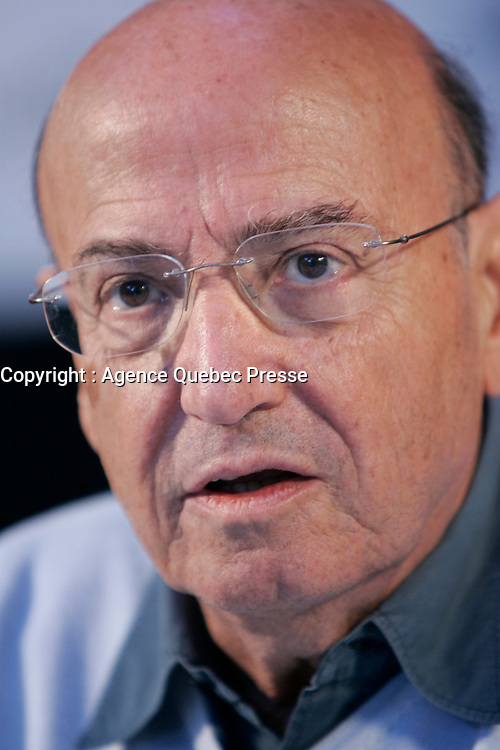 August 2008 File Photo - Montreal, Quebec, CANADA -Angelopoulos's Tribute Press Conference World Film Festival
