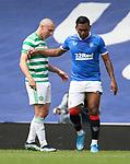 02.05.2021 Rangers v Celtic: Scott Brown and Alfredo Morelos