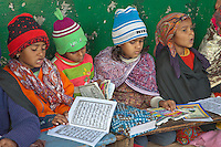 Girl Madrasa Students, Madrasa Islamia Arabia Izharul-Uloom, Dehradun, India.