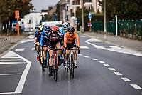 Teuntje Beekhuis (NED/Lotto-Soudal) leading the early breakaway group<br /> <br /> 17th Ronde van Vlaanderen 2020<br /> Elite Womens Race (1.WWT)<br /> <br /> One Day Race from Oudenaarde to Oudenaarde 136km<br /> <br /> ©kramon