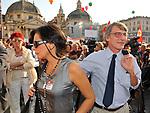 DAVID SASSOLI<br /> MANIFESTAZIONE PER LA LIBERTA' DI STAMPA PROMOSSA DAL FNSI<br /> PIAZZA DEL POPOLO ROMA 2009