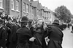 Grunwick Strike North London UK. Strike supporter  being arrested.