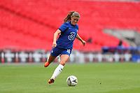 29th August 2020; Wembley Stadium, London, England; Community Shield Womens Final, Chelsea versus Manchester City; Maren Mjelde of Chelsea Women comes forward on the ball