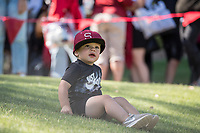 STANFORD, CA - MAY 29: Helper during a game between Oregon State University and Stanford Baseball at Sunken Diamond on May 29, 2021 in Stanford, California.
