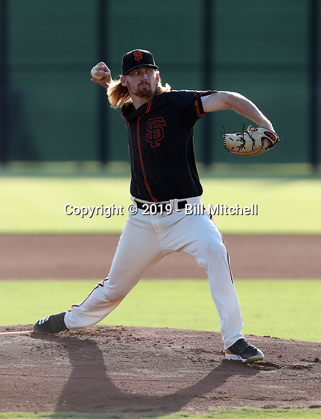 Bryce Fehmel - 2019 AZL Giants (Bill Mitchell)