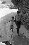 VITTORIO ED ALESSANDRO GASSMAN - PORTO ERCOLE 1971
