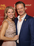 """Kelli O'Hara and Will Chase attends the Broadway Opening Night After Party for """"Kiss Me, Kate""""  at Studio 54 on March 14, 2019 in New York City."""