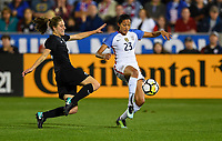 Commerce City, CO - Friday September 15, 2017: Christen Press during an International friendly match between the women's National teams of the United States (USA) and New Zealand (NZL) at Dick's Sporting Goods Park.