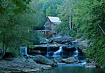 Glade Creek Grist Mill, Babcock State Park, West Virginia, USA