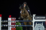 Olivier Philippaerts on H&M Challenge v. Begijnakker competes during Longines Grand Prix at the Longines Masters of Hong Kong on 21 February 2016 at the Asia World Expo in Hong Kong, China. Photo by Juan Manuel Serrano / Power Sport Images