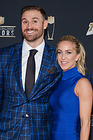 MIAMI, FL - FEBRUARY 1: Chris Long and Megan O'Malley attend the 2020 NFL Honors at the Ziff Ballet Opera House during Super Bowl LIV week on February 1, 2020 in Miami, Florida. (Photo by Anthony Behar/Fox Sports/PictureGroup)