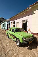 Cuba, Oldtimer in Trinidad, Provinz Sancti Spiritus