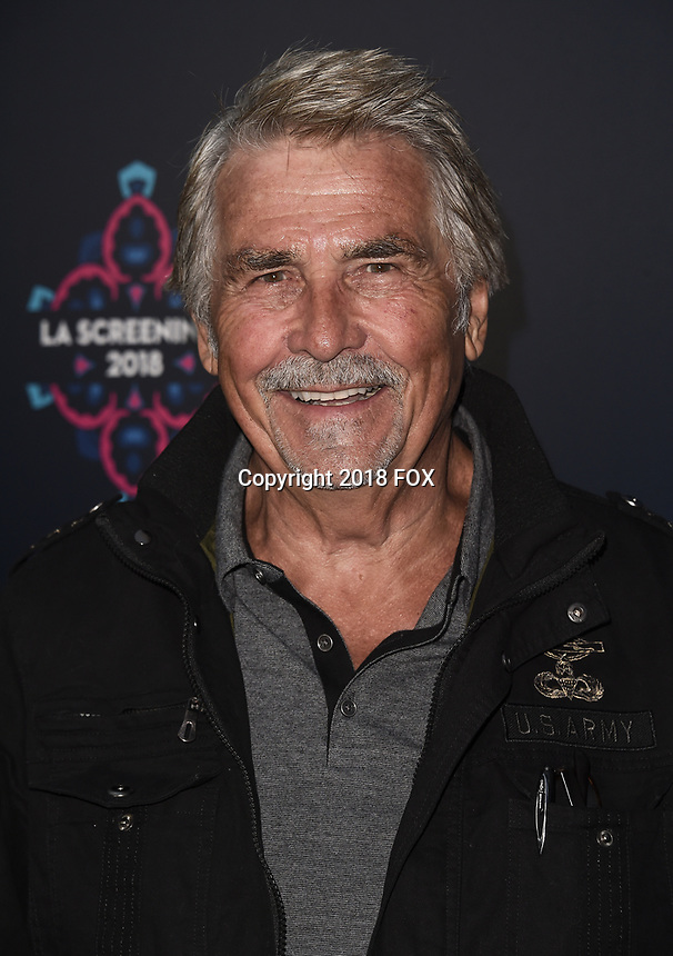 LOS ANGELES - MAY 24: James Brolin attends the 2018 Fox LA Screenings Gala and party on the Fox Studio Lot on May 24, 2018 in Los Angeles, California. (Photo by Scott Kirkland/Fox/PictureGroup)