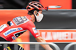 Race leader Red Jersey Primoz Roglic (SLO) Jumbo-Visma arrives at sign on before Stage 9 of La Vuelta d'Espana 2021, running 188km from Puerto Lumbreras to Alto de Velefique, Spain. 22nd August 2021.    <br /> Picture: Cxcling   Cyclefile<br /> <br /> All photos usage must carry mandatory copyright credit (© Cyclefile   Cxcling)