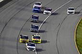 #51: Brandon Jones, Kyle Busch Motorsports, Toyota Tundra Chigo/Menards and #98: Grant Enfinger, ThorSport Racing, Ford F-150 Champion Power Equipment