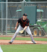 Logan Wyatt - San Francisco Giants 2020 spring training (Bill Mitchell)
