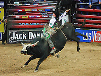 Kody Lostroh rides during the PBR at the Thomas and Mack on the campus of UNLV. Lostroh was the PBR Rookie of the Year in 2005.