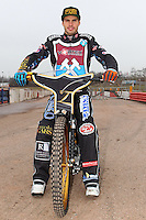 Kim Nilsson of Lakeside Hammers - Lakeside Hammers Speedway Press & Practice Day at Arena Essex Raceway - 20/03/15 - MANDATORY CREDIT: Gavin Ellis/TGSPHOTO - Self billing applies where appropriate - contact@tgsphoto.co.uk - NO UNPAID USE