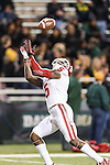 Oklahoma Sooners wide receiver Durron Neal (5) in action during the game between the Oklahoma Sooners and the Baylor Bears at the Floyd Casey Stadium in Waco, Texas. Baylor defeats OU 41 to 12.