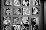 Made in Roath Arts Festival 2014. Cardiff Wales. Portraits on Beer Mats by Ellie Young. Roath Park Pub.