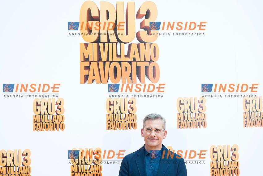 American actor Steve Carrell attends to the presentation of film 'Gru, Mi Villano Favorito 3' (Despicable Me 3 ) in Madrid, June 20, 2017. Spain.<br /> (ALTERPHOTOS/BorjaB.Hojas)<br /> <br /> Cattivissimo 3 Photo Call Madrid <br /> Foto ALTERPHOTOS/BorjaB.Hojas/Insidefoto