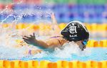 Grace Baik. Session 9 of the AON New Zealand National Age Group Swimming Champs, Wellington Regional Aquatic Centre, Auckland, New Zealand. Thursday 23 April 2021 Photo: Simon Watts/www.bwmedia.co.nz