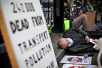 27.04.2016 - #PollutionProtest - Rally & Die-In Outside Department for Transport