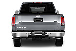 Straight rear view of a 2013 Nissan Titan SL Crew Cab 2wd
