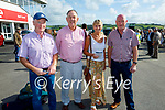 Enjoying the afternoon at the Listowel races on Monday, l to r: Sean Drohan, Tom and Mary Cahill (Athea) and James Murphy