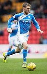 St Johnstone v Partick Thistle…29.10.16..  McDiarmid Park   SPFL<br />David Wotherspoon<br />Picture by Graeme Hart.<br />Copyright Perthshire Picture Agency<br />Tel: 01738 623350  Mobile: 07990 594431