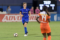 Frisco, TX - Sunday September 03, 2017: Rachel Corsie during a regular season National Women's Soccer League (NWSL) match between the Houston Dash and the Seattle Reign FC at Toyota Stadium in Frisco Texas. The match was moved to Toyota Stadium in Frisco Texas due to Hurricane Harvey hitting Houston Texas.