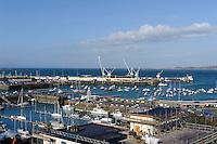 Hafen von  St. Peter Port, Insel Guernsey, Kanalinseln