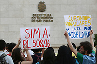 02.10.2019 - Ato pelo Passe Livre  para Cursinhos Populares em SP