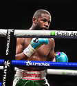 """MIAMI GARDENS, FLORIDA - JUNE 06: Former world welterweight Floyd """"Money"""" Mayweather during his eight-round exhibition boxing match against YouTube personality Logan """"Maverick"""" Paul at Hard Rock Stadium on June 06, 2021 in Miami Gardens, Florida. ( Photo by Johnny Louis / jlnphotography.com )"""