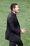 Atletico de Madrid's coach Diego Pablo Cholo Simeone during La Liga match. October 4,2015. (ALTERPHOTOS/Acero)